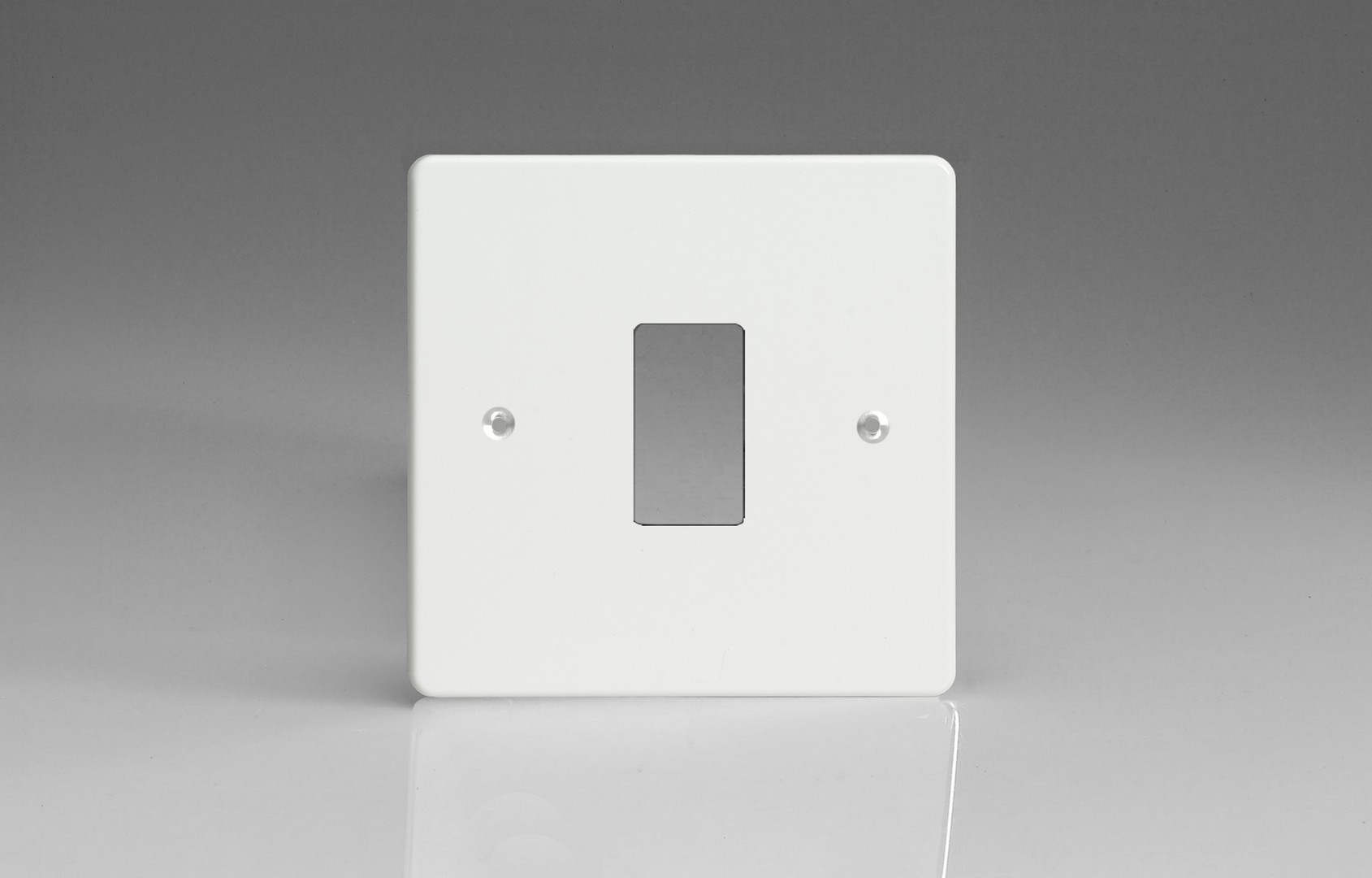 Switch Faceplate Premium White 1Gang Grid Plate Single Plate Faceplate  Switch