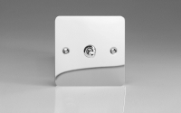 Ultraflat Polished Chrome 1-Gang 10A 1- or 2-Way Toggle Switch